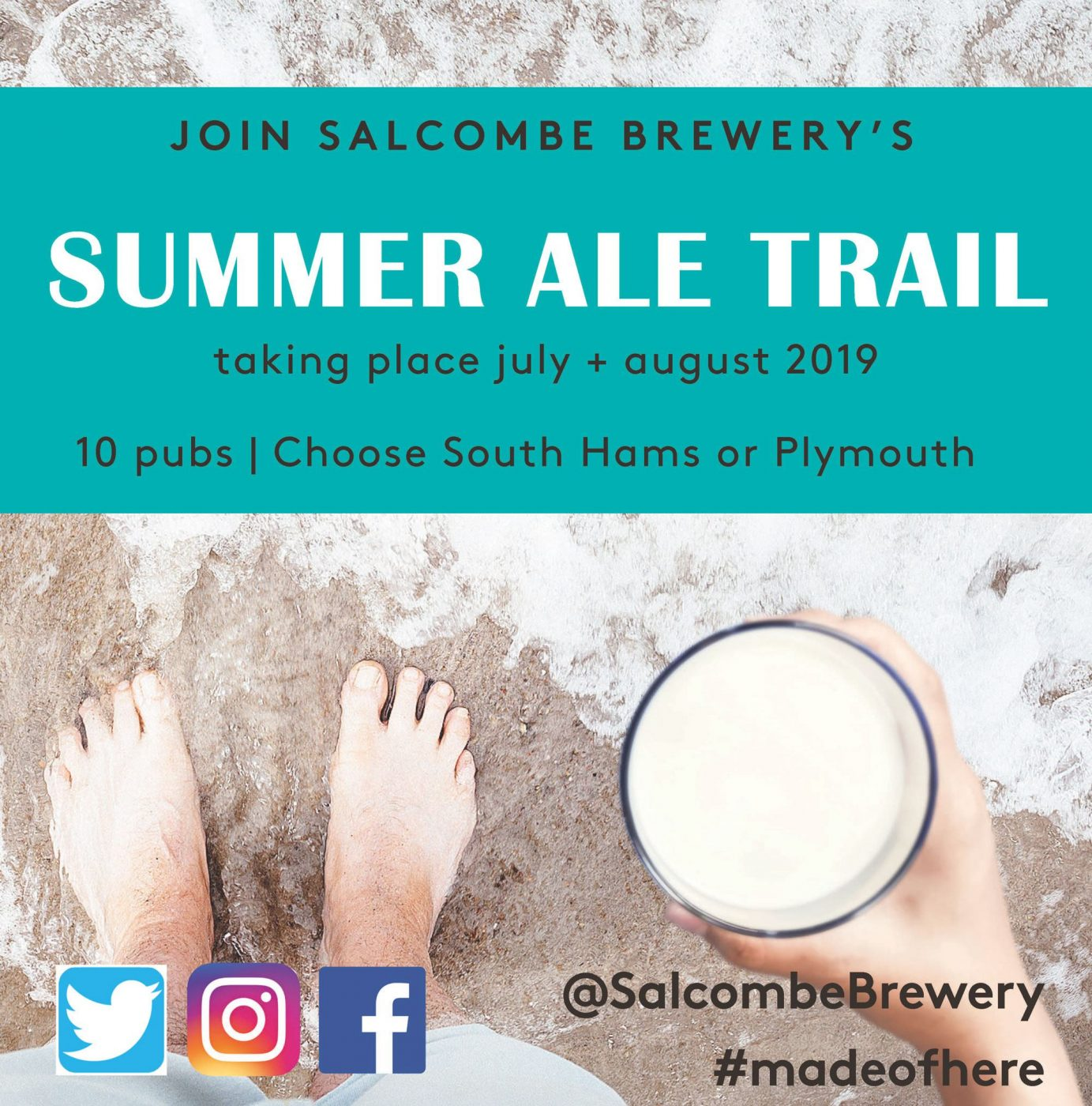 Salcombe Brewery Ale Trail