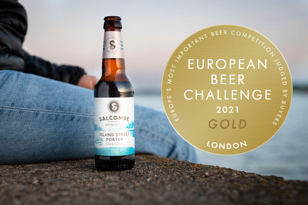 Gold Award for Island Street Porter at the European Beer Challenge