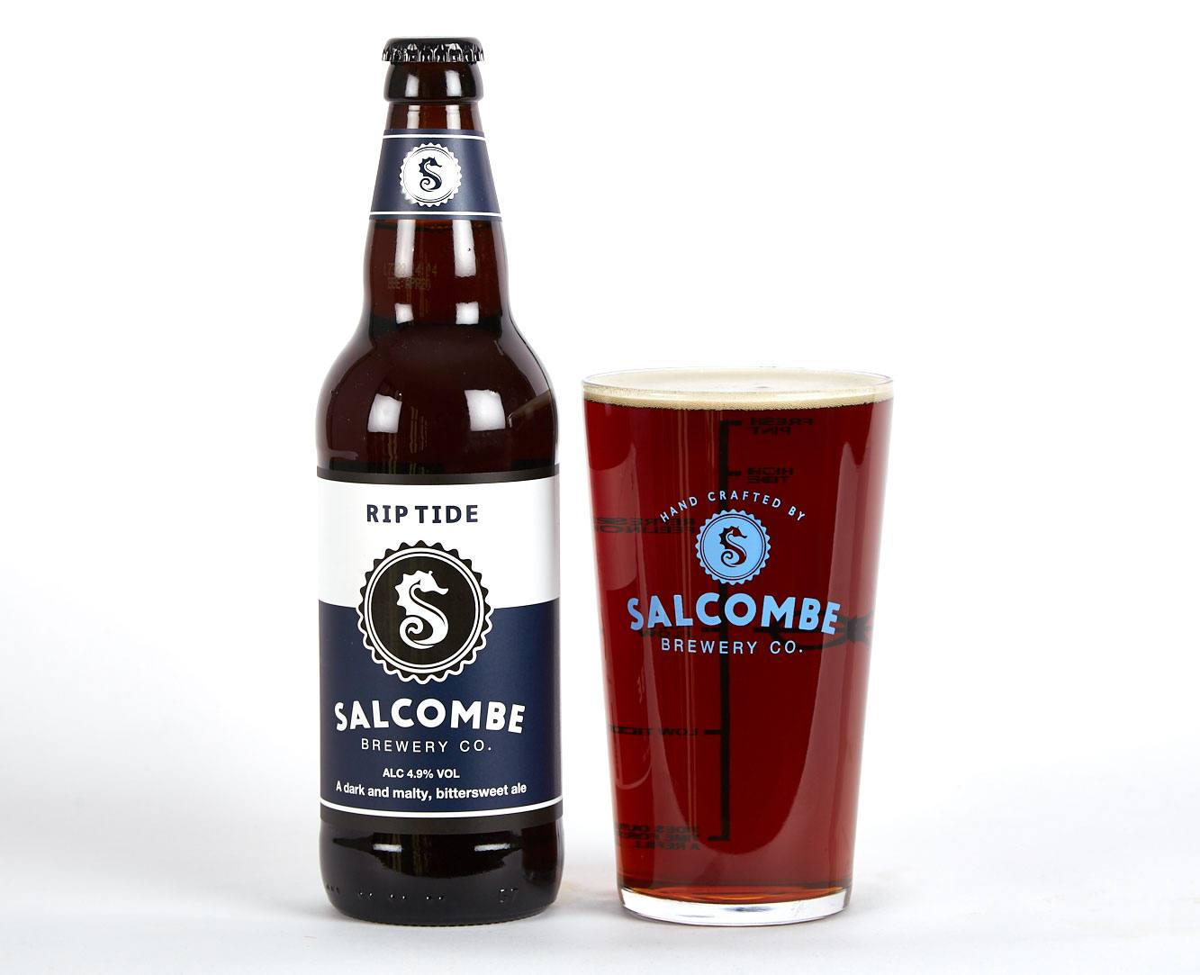 Winter Warmer beer from Salcombe Brewery