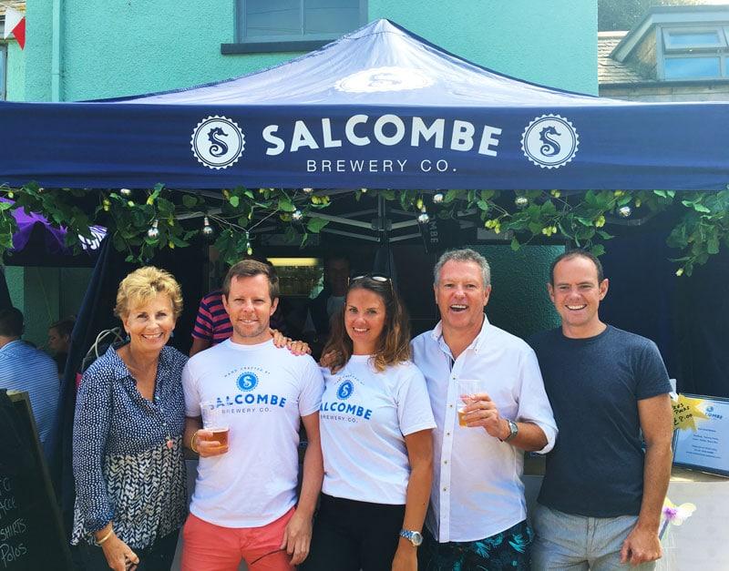 History Salcombe Brewery