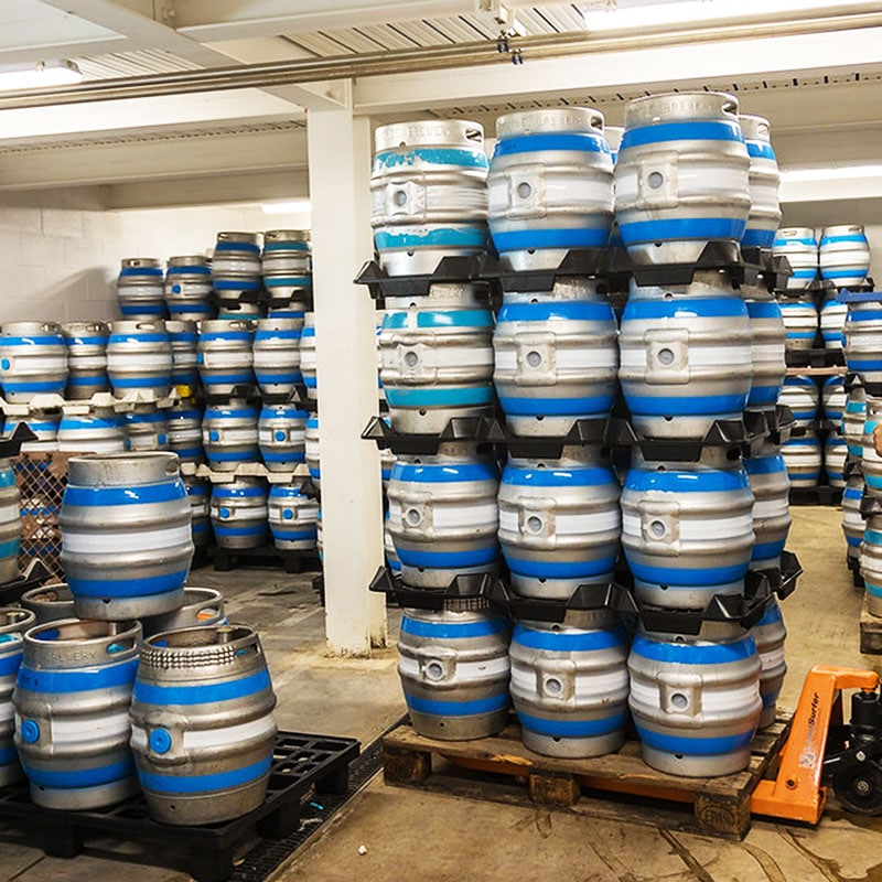 Salcombe Brewery Co. Barrel Store