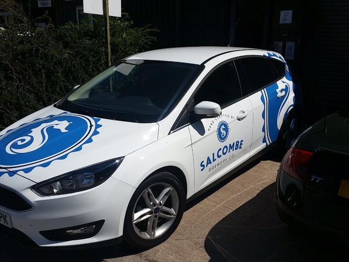 Salcombe brewery sales car